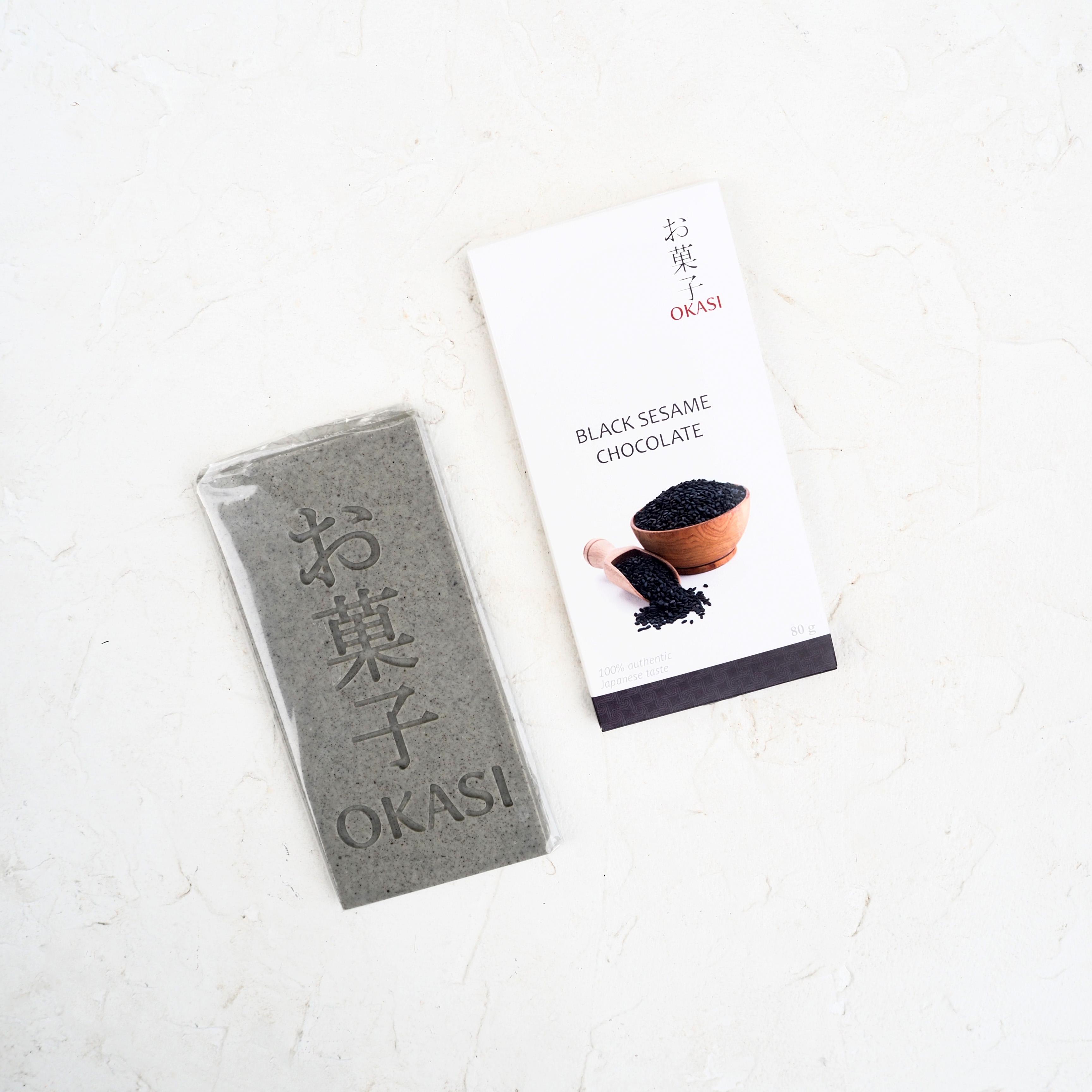 Шоколад с чёрным кунжутом (1 шт., 80 г)