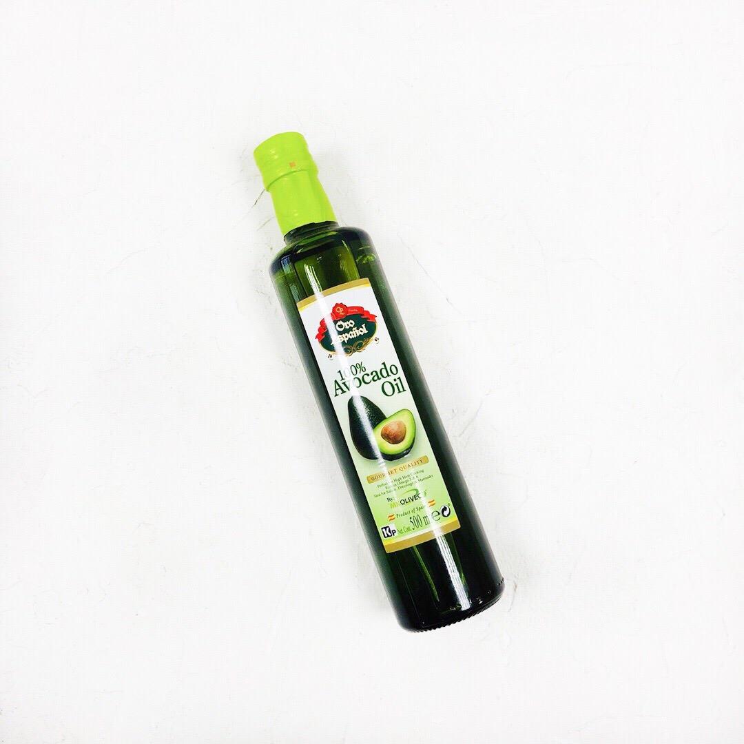 Рафинированное масло авокадо  (0,5 л)