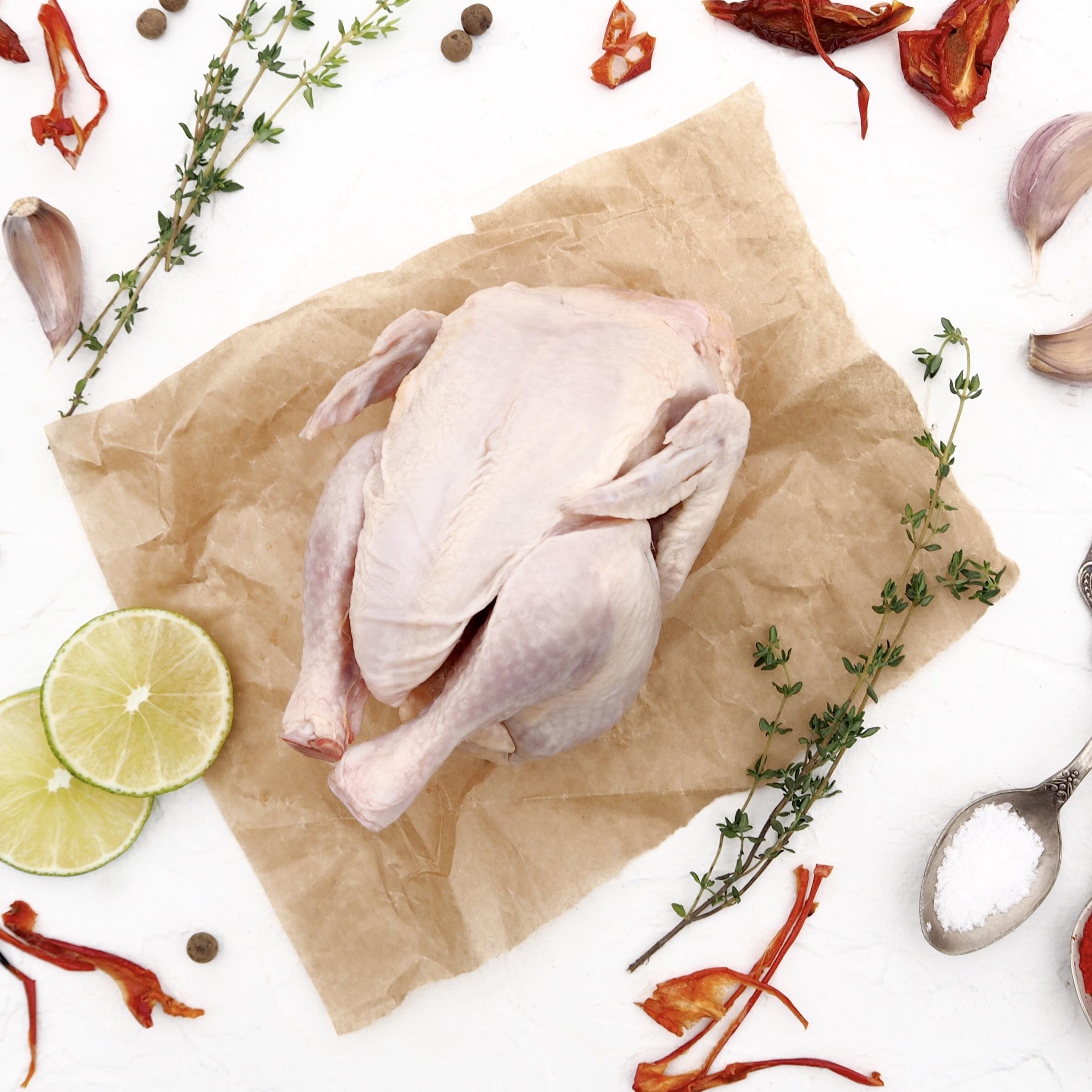 Свежезамороженный цыпленок-бройлер (1,2 кг)
