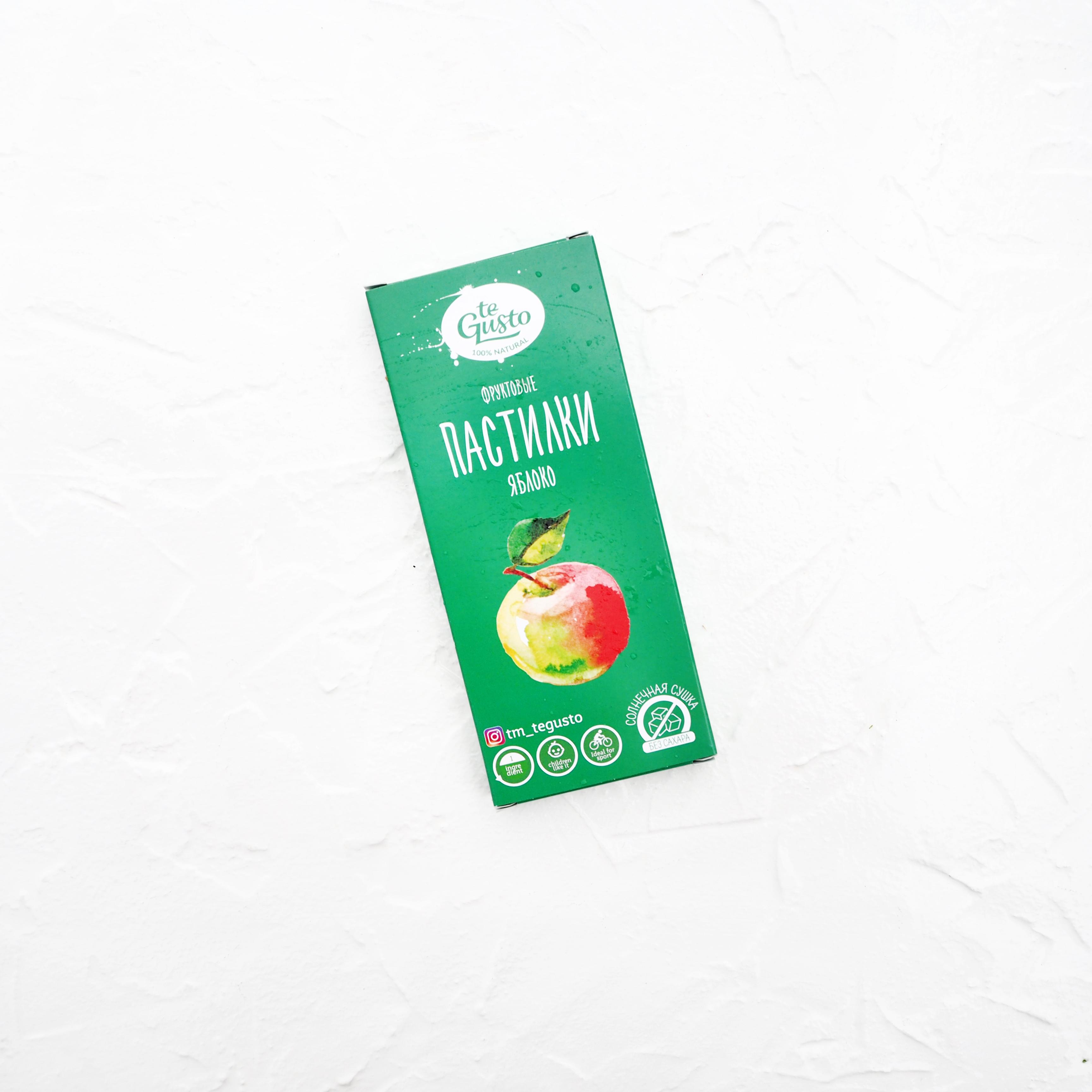 Фруктовые пастилки: яблоко (40 г)