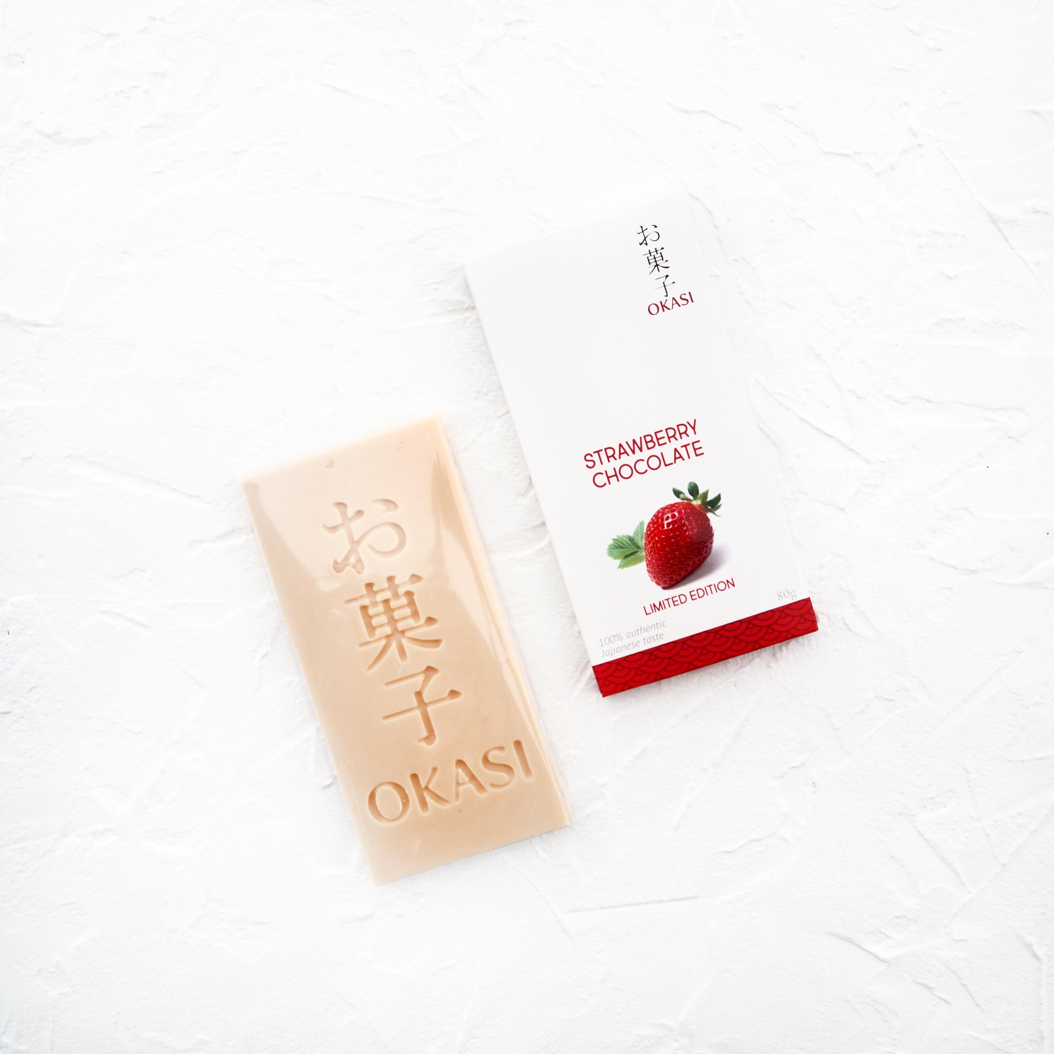 Шоколад с клубникой Тотиотомэ (1 шт., 80 г)