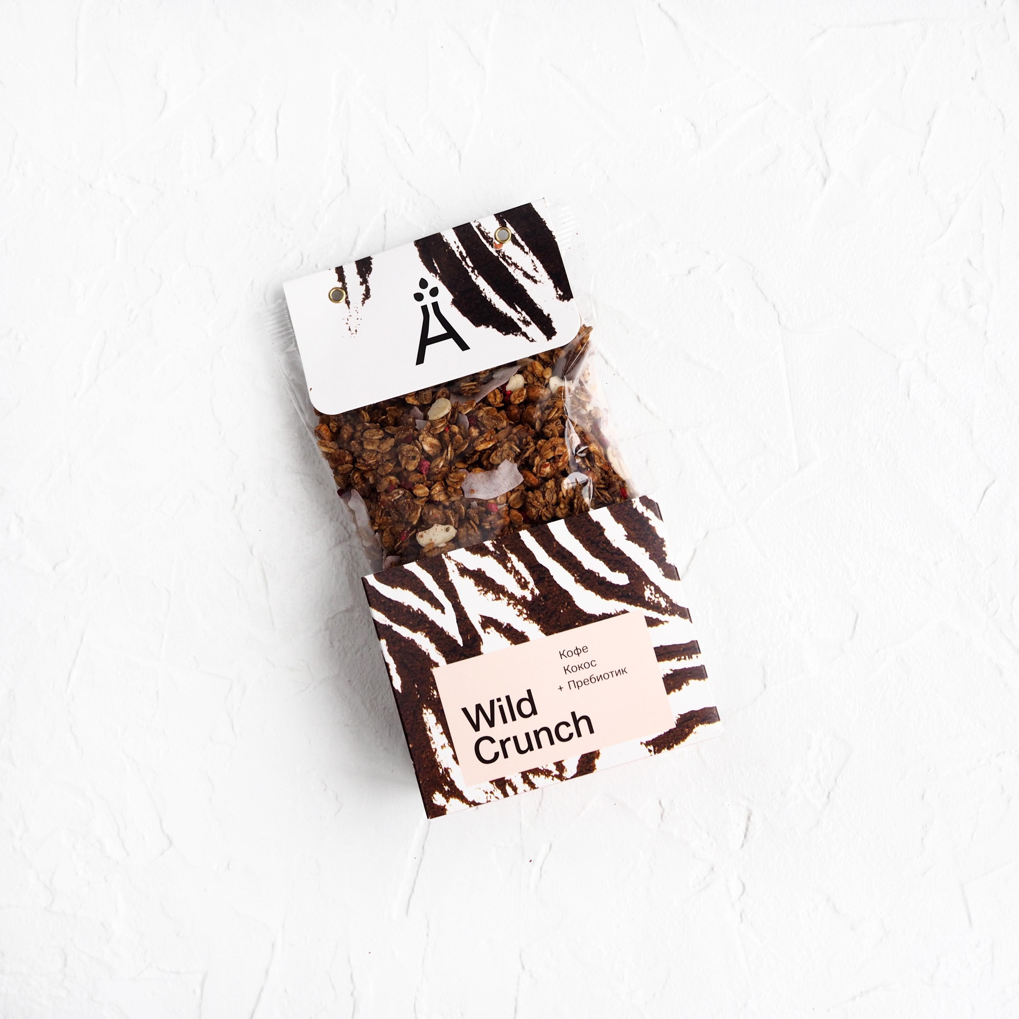Wild Crunch Кокос и кофе (260 г)