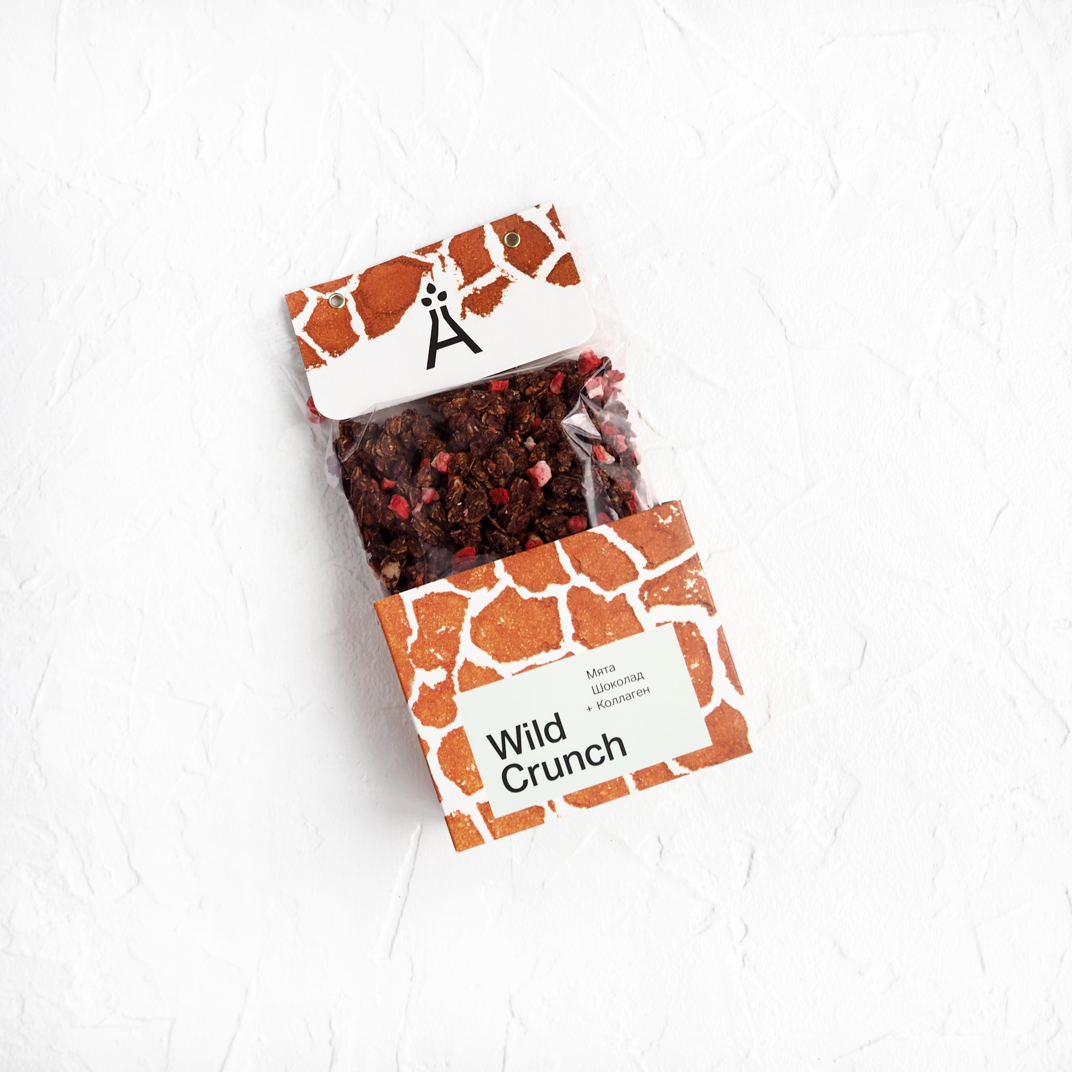 Wild Crunch Мята и шоколад (260 г)