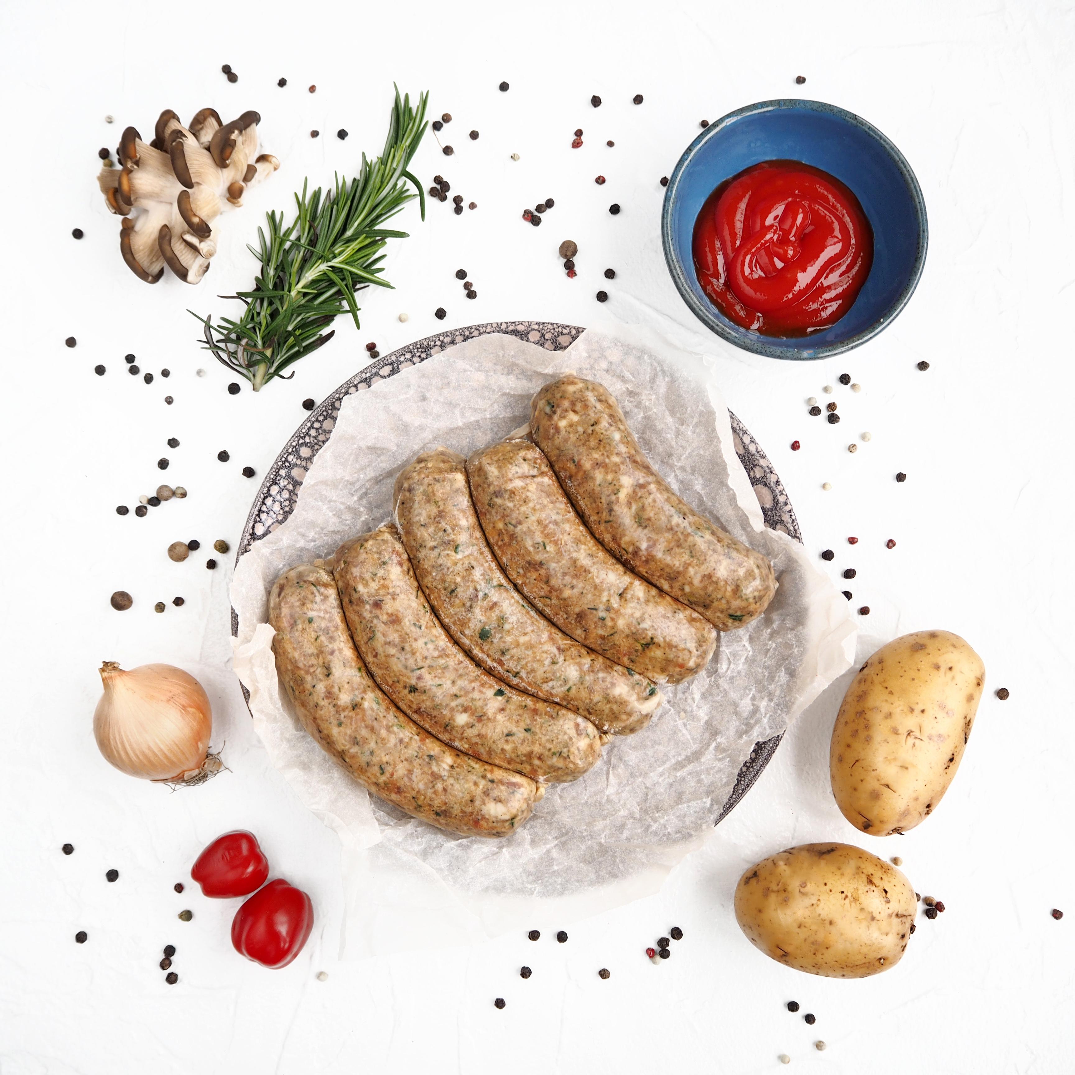 Замороженные домашние колбаски (5 шт., 500 г)