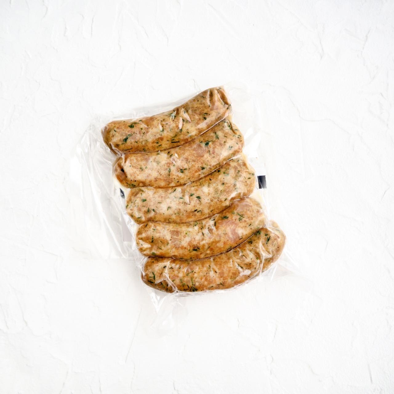Замороженные колбаски из индейки (5 шт., 500 г)