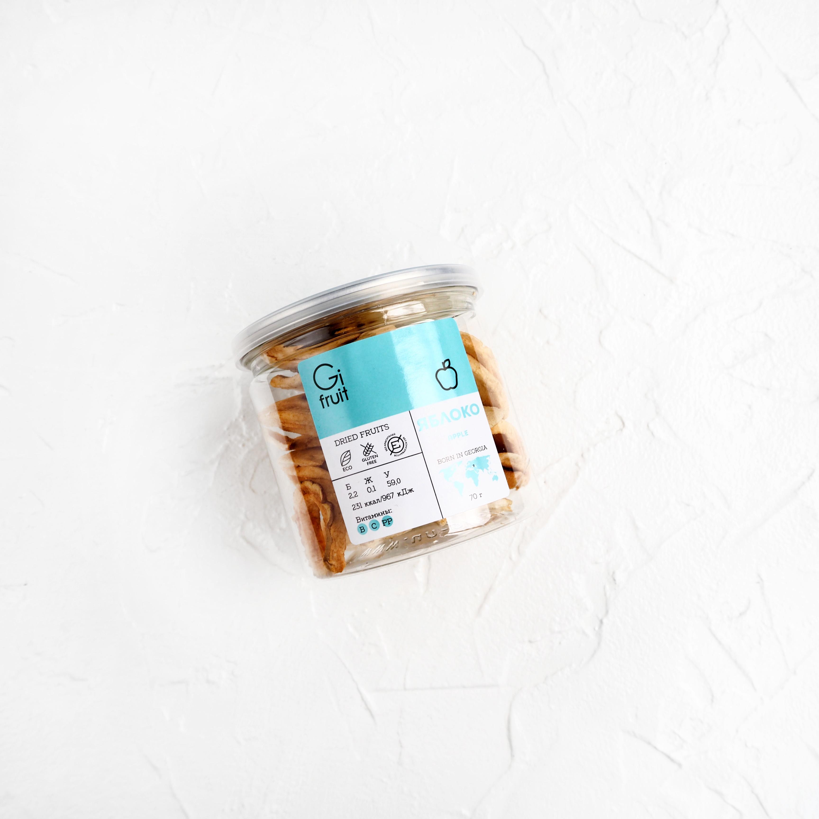 Сушёные яблоки (1 шт., 70 г)
