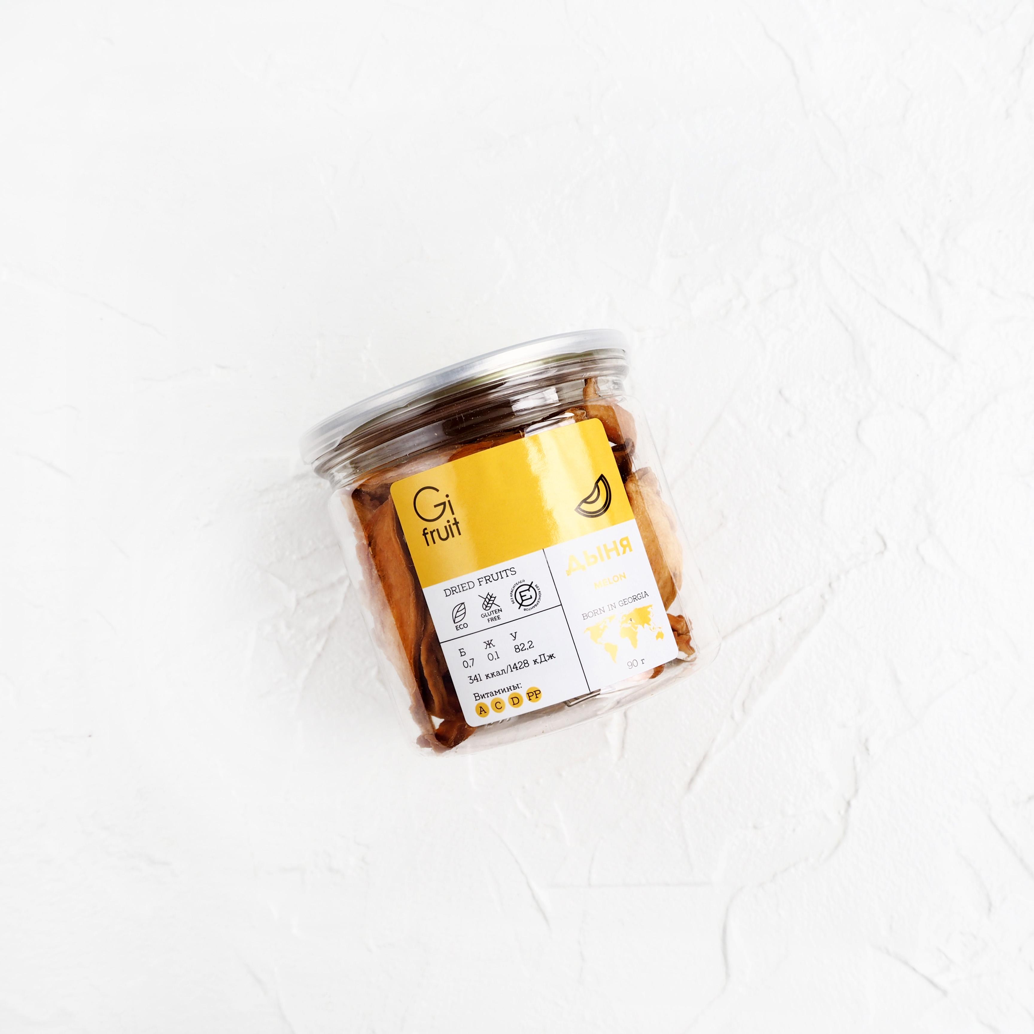 Сушёная дыня (1 шт., 90 г)