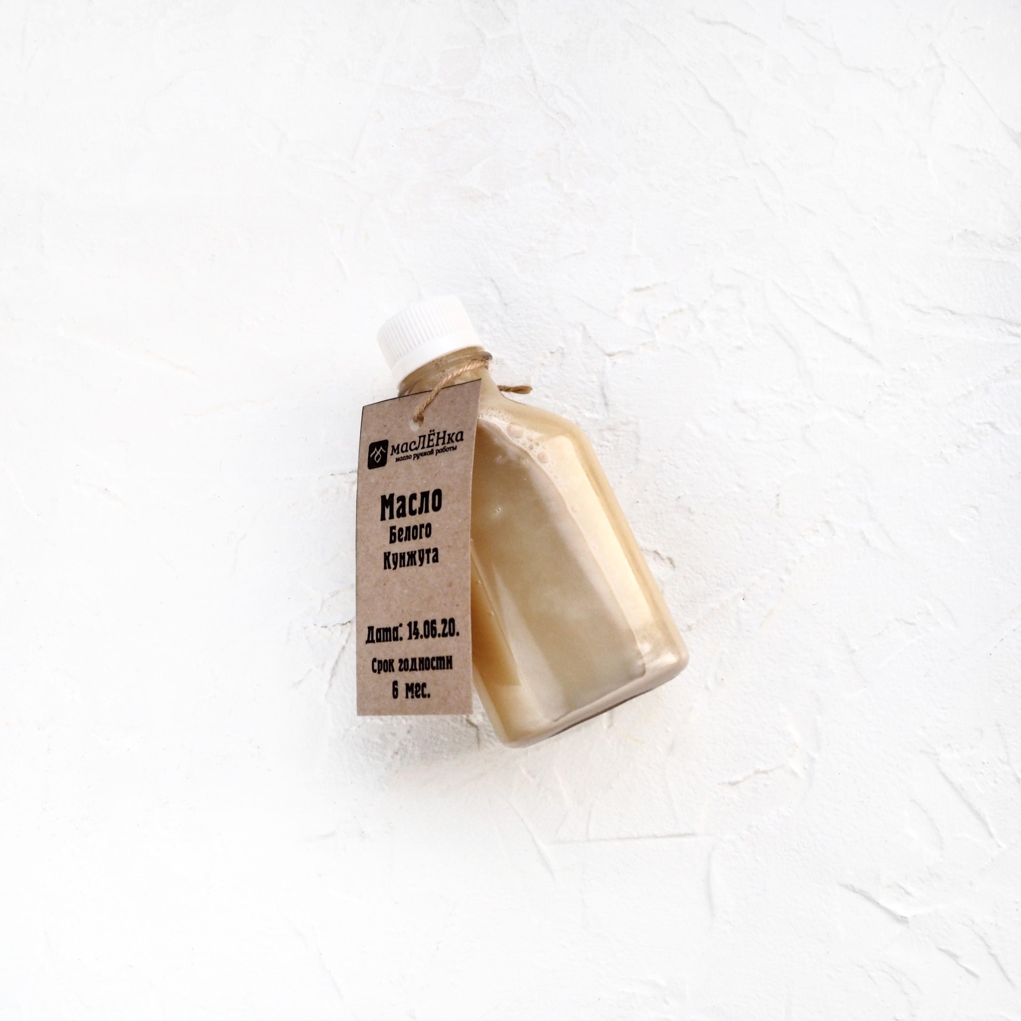 Нерафинированное масло белого кунжута первого отжима (1 шт., 0,25 л)