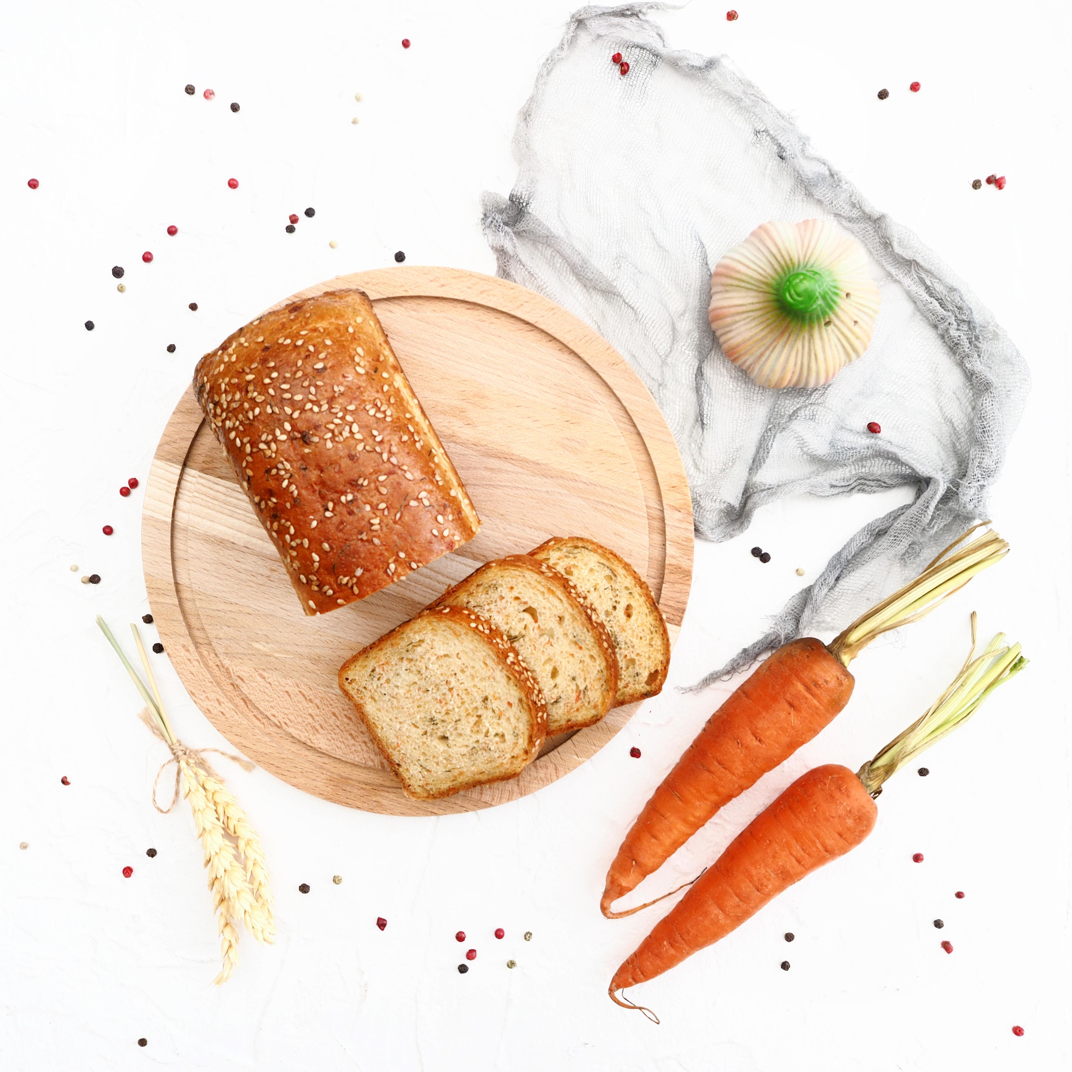 Замороженный морковный хлеб (1 шт., 315 г)