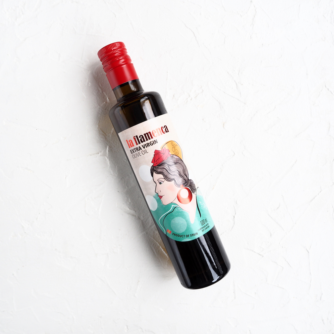 Нерафинированное оливковое масло Extra Virgin (1 шт., 0,5 л)