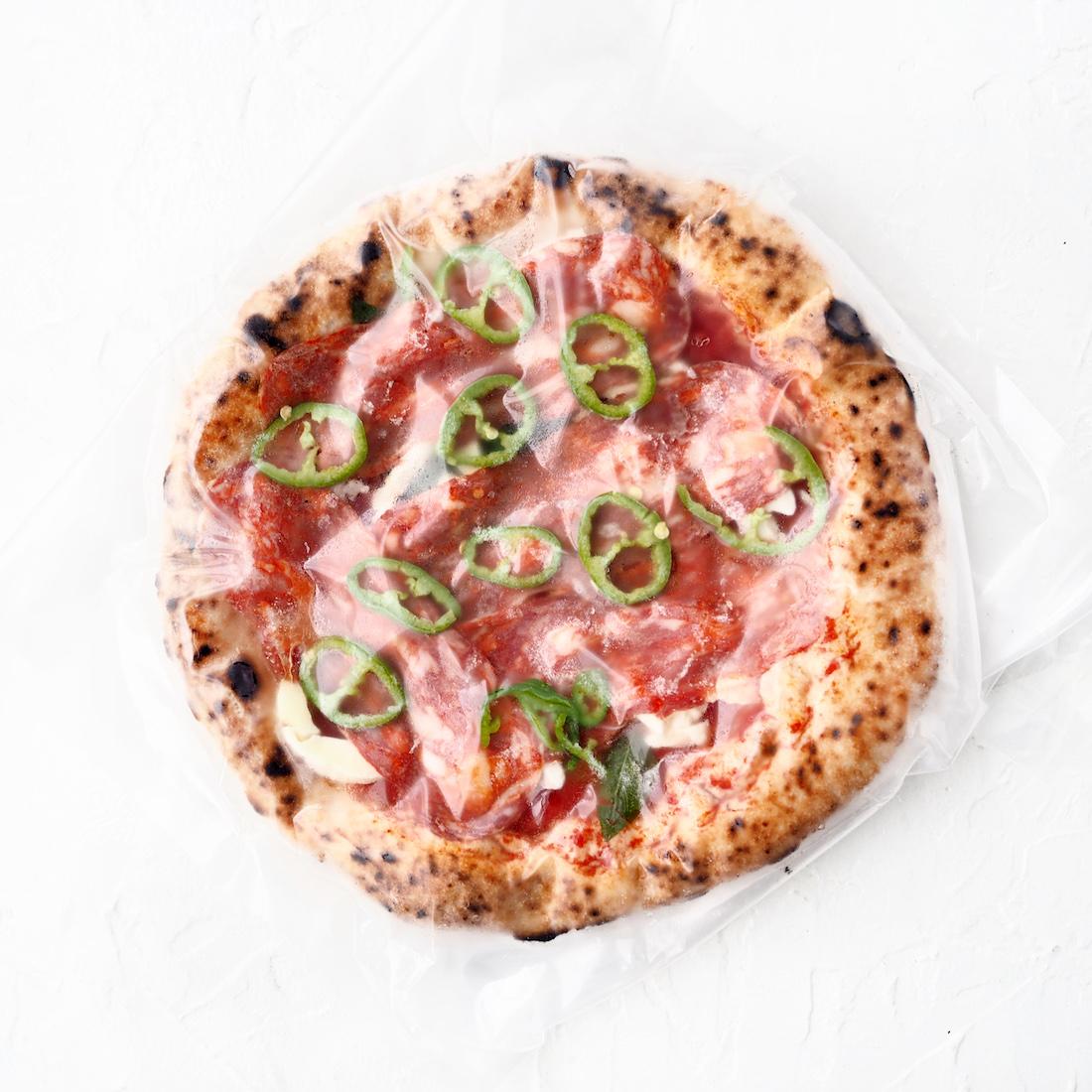 Замороженная неаполитанская пицца Дьявола (1 шт., 390 г)