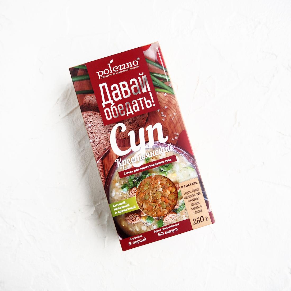 Крестьянский суп (1 уп., 250 г)