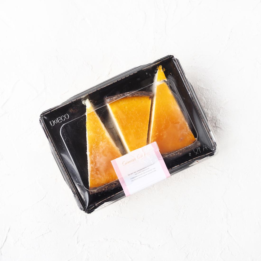 Замороженный чизкейк с маракуйей и манго (3 шт., 330 г)