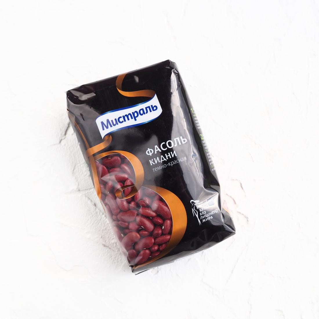 Тёмно-красная фасоль Кидни (450 г)