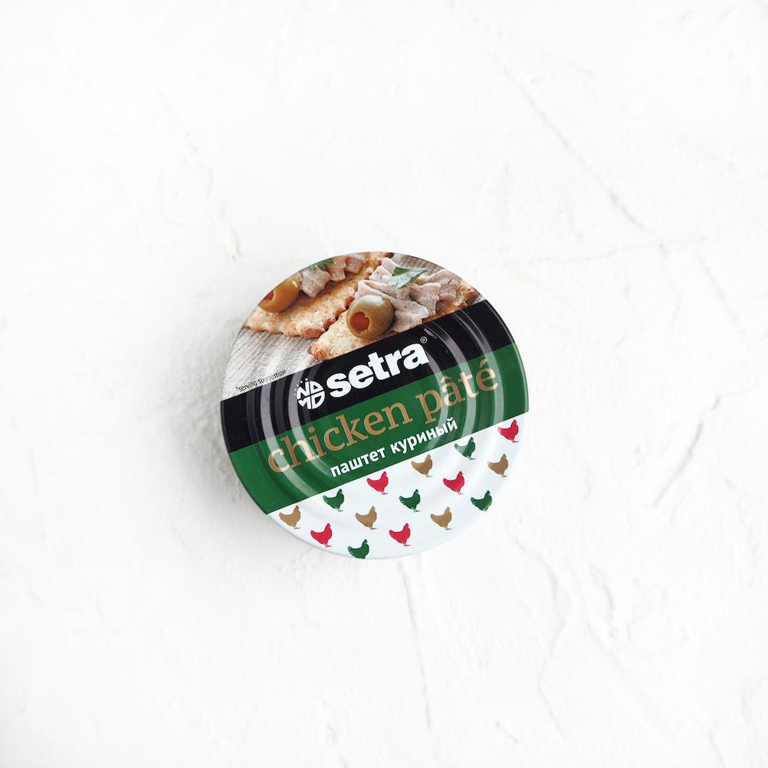 Setra Куриный паштет (100 г)