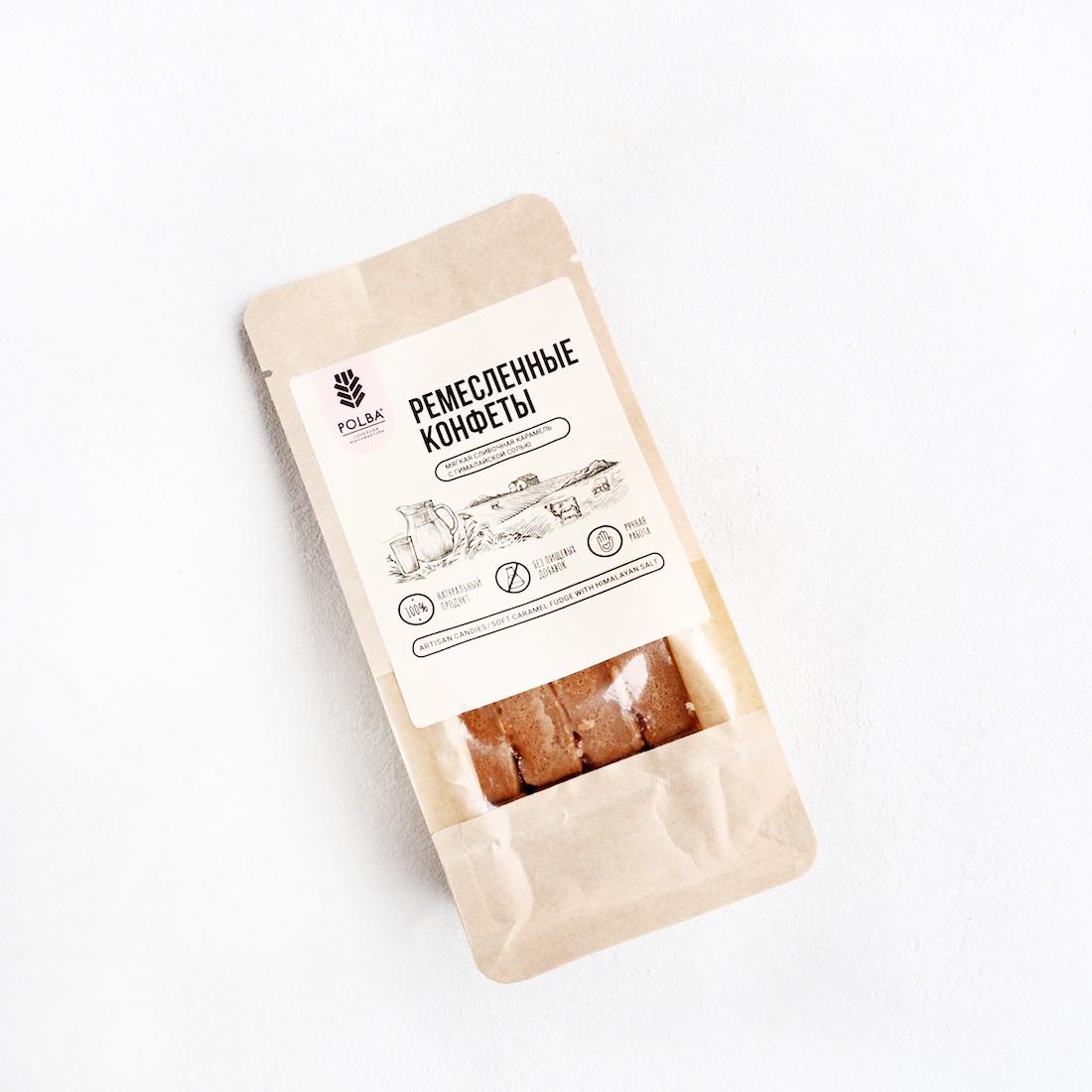 Мягкая сливочная карамель с гималайской солью (150 г)