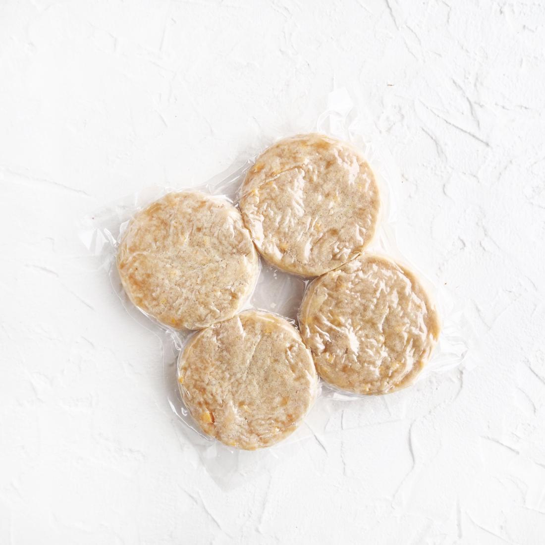 Замороженные куриные котлетки с сыром (4 шт.)