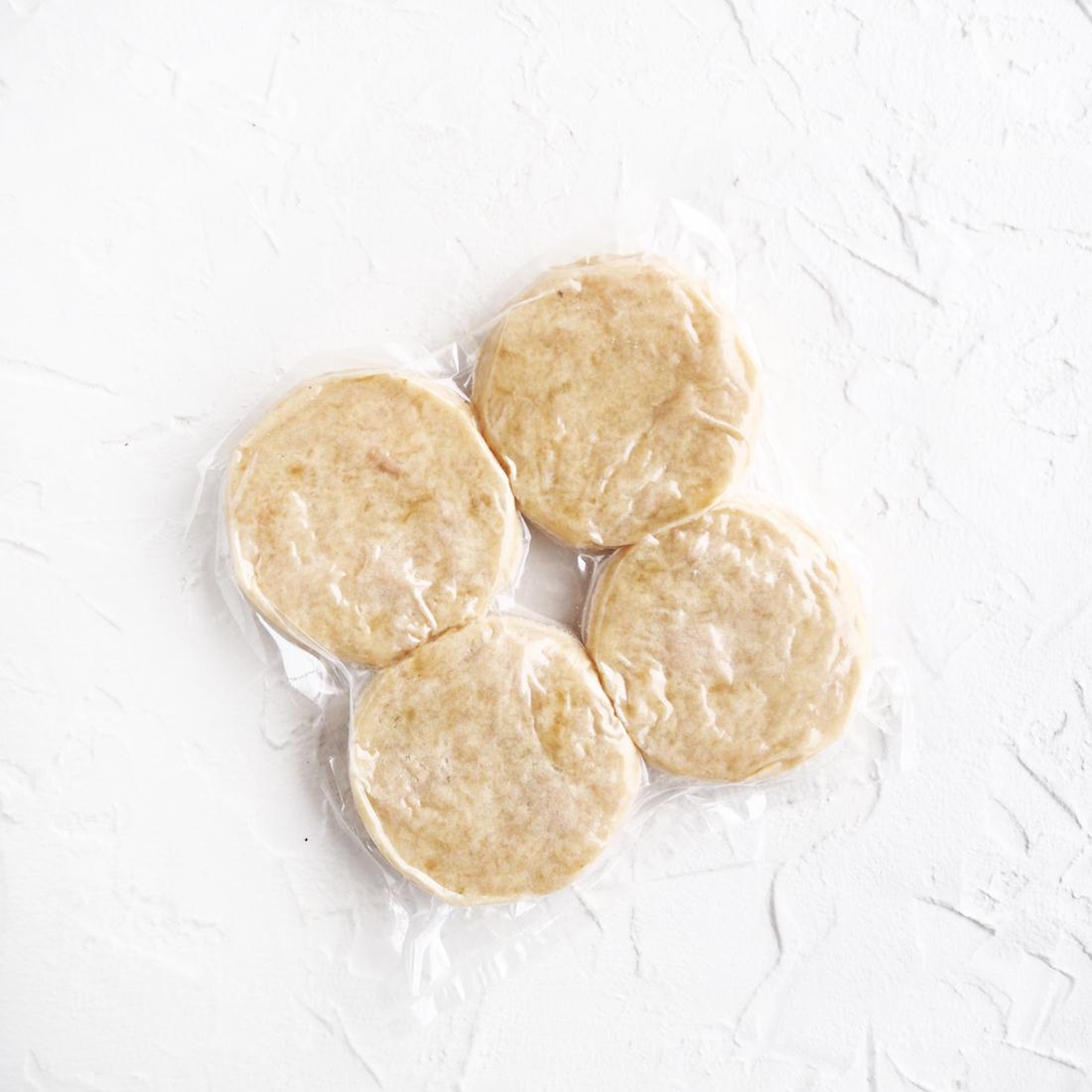 Замороженные куриные котлетки с копченым сливочным маслом (4 шт.)