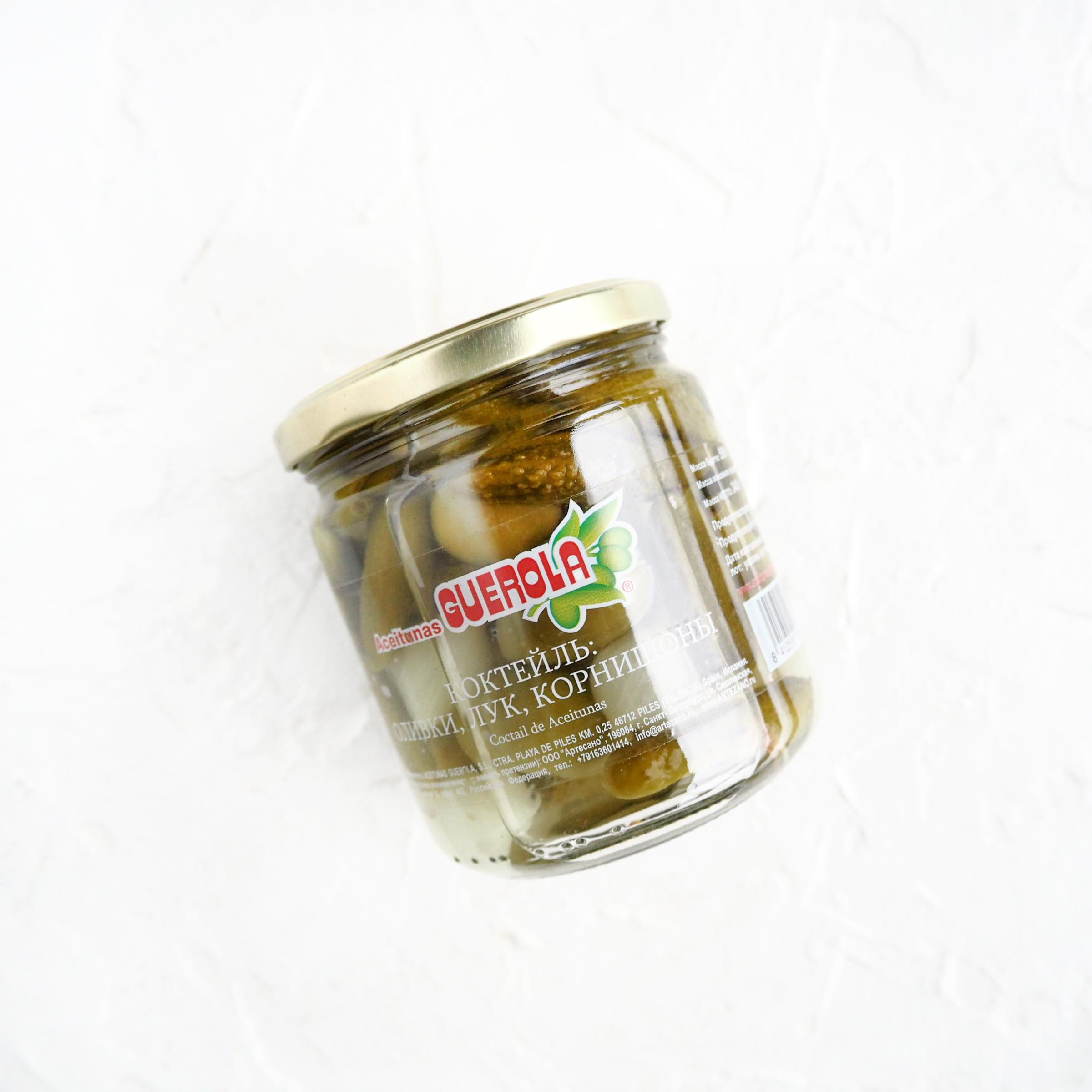 Коктейль из лука, корнишонов и оливок (1 шт., 340 г)
