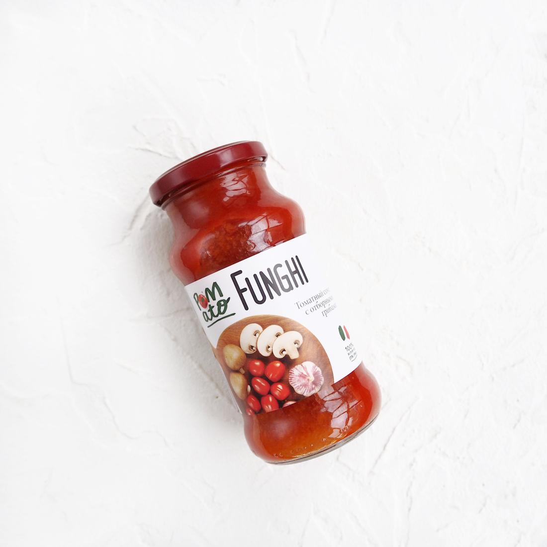 Томатный соус с отборными грибами (350 г)