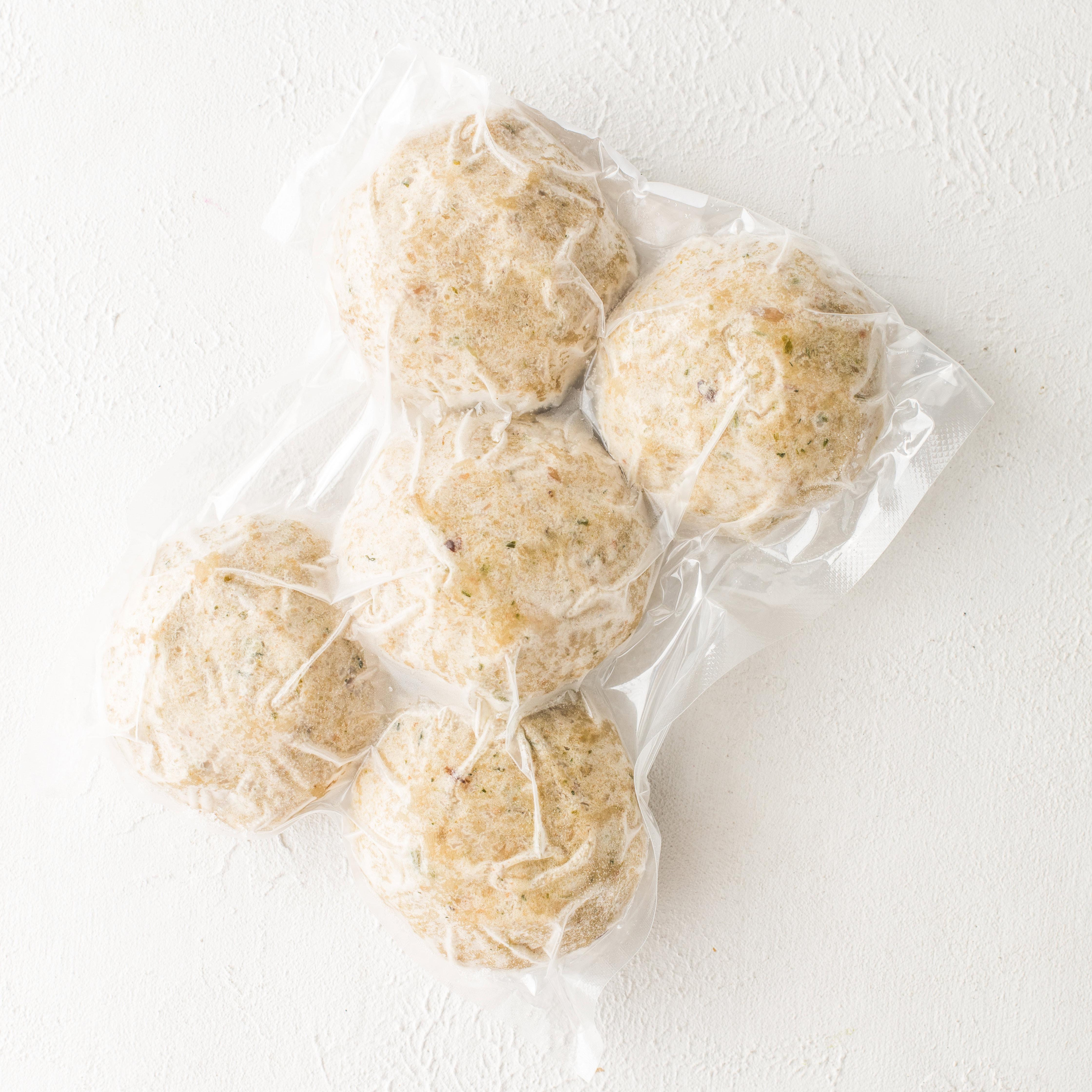 Замороженные котлеты из трески (500 г)